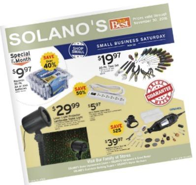 Solanos Do it Best Sales